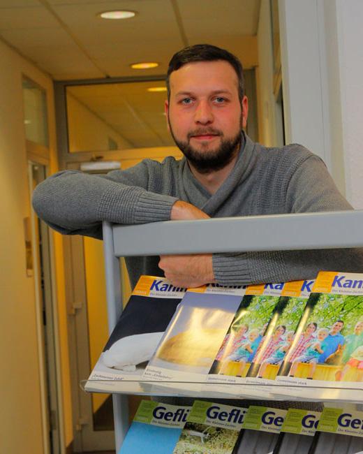 Holger Schnellschmidt - Redakteur Geflügelzeitung