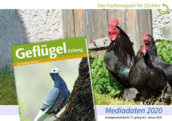 Cover Mediadaten GeflügelZeitung 2020