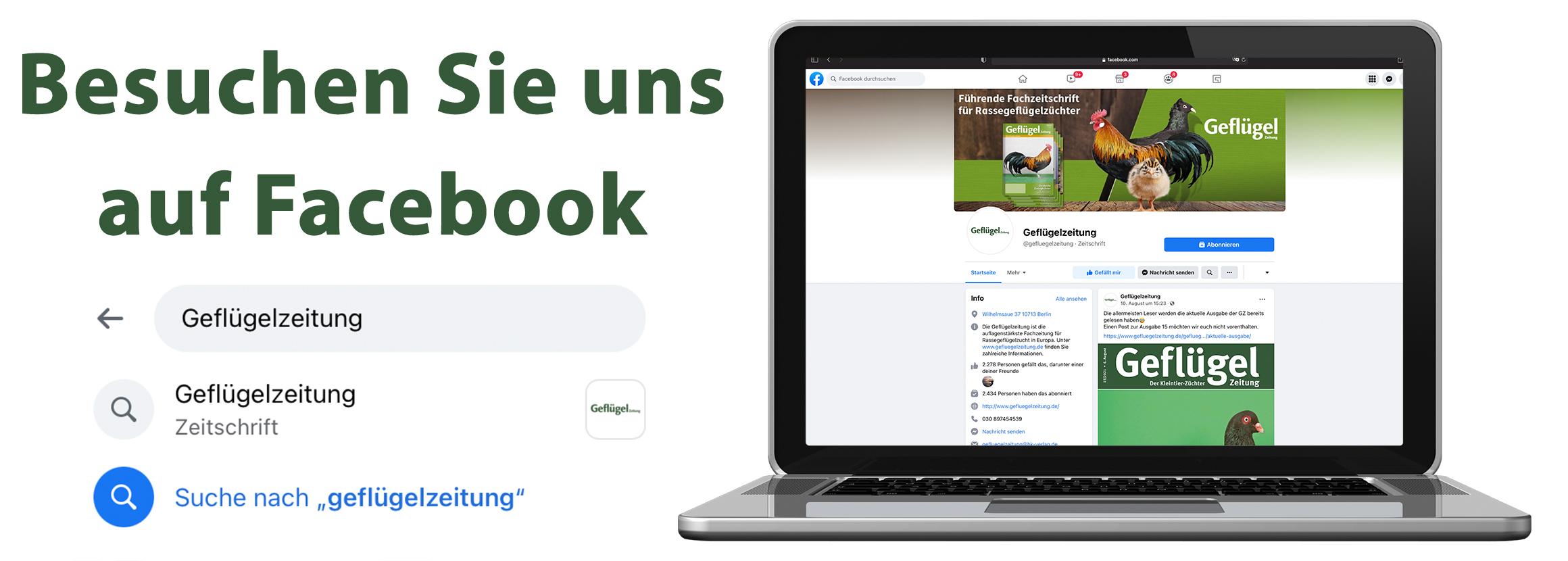 Geflügelzeitung auf Facebook